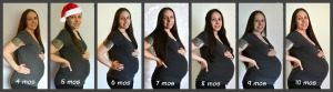 Yes, pregnancy is actually TEN months people! Not 9 months. At least for most of us! ;-)